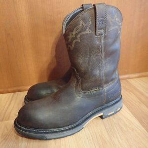 Ariat Waterproof Composite Toe Work Boots NICE